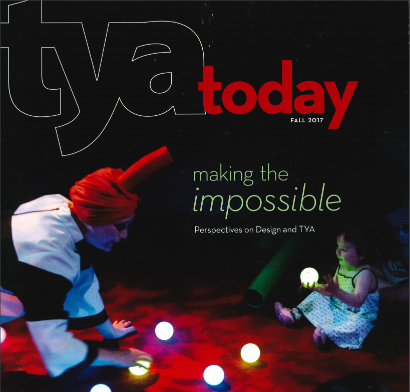 Eric Abele Featured in TYA Today Magazine